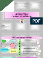 CÍRCULO Y CIRCUNFERENCIA Y TRIANGULO