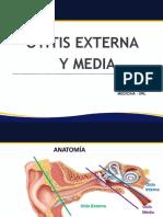 OTITIS EXTERNA Y MEDIA dalila