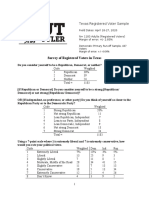 Dallas Morning News-UT Tyler Poll April 2020 (Rv)