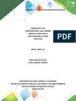 Fase 2. Contexto municipal y clasificación de residuos sólidos