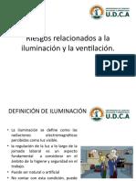 Riesgos relacionados a la iluminación y la ventilación