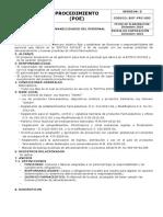 BOT-PRC-002. Funciones y Responsabilidades del Personal. 1