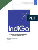 An Analytical Study on Strategic Management of Indigo Airline