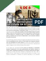 Antisemitismo español y sefarditismo en el siglo XX (4 de 6) - FRANCO ¿FILOSEMITA O ANTISEMITA