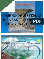 DISEÑO DE SISTEMAS DE AGUA POTABLE