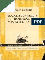 Berdiaev, Nicolas - El Cristianismo y El Problema del Comunismo.pdf