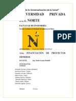 FINANCIACIÓN DE PROYECTOS MINEROS