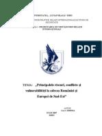 Principalele Amenintari Si Vulnerabilitati La Adresa Europei SE