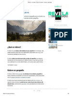 Relieve_ Concepto, Tipos de relieves, Causas y Ejemplos