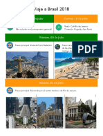 Viaje a Brasil 2018
