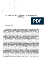 Analisis Del Discurso Introduccion Teorica