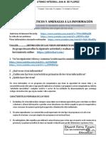 bimestre 3 NOVENO DEFINICIÓN DE LOS VIRUS INFORMATICOS