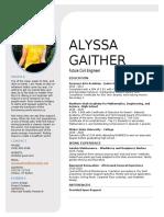 alyssa gaither-resume