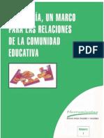 1 La Tutoría, un marco para las relaciones de la comunidad educativa