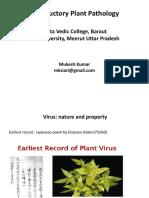 Virus nature and properties