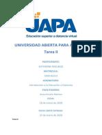 Tarea II - Intro Educacion a Distancia.docx