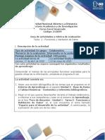 Guía de Actividades y Rubrica de Evaluación - Tarea 2 - Funciones y Validación de Datos