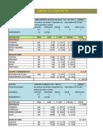 ejemplo presupuesto y acu