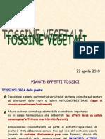 tossine vegetali