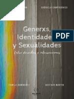 LIBRO Generxs, Identidades y Sexualidades. Entre derechos e intersecciones. Ediciones Kolontai 2020