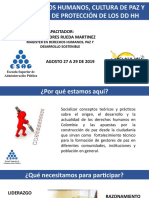 SEMINARIO DDHH Y CULTURA DE PAZ MODULO I