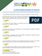 CUESTIONARIO APO2 EV-3ESPECIFICAR PARAMETROS DE DISEÑO DEL PRODUCTO 2020