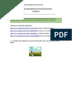 Guía de aprendizaje de Ciencias Naturales 4°