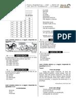 1ª P.D - 2012  (3º ano -  L.P)