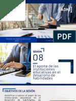 08 El aporte de las instituciones educativas en el desarrollo de habilidades.pdf