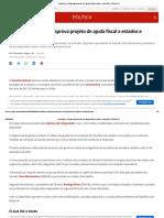 Coronavírus_ Senado aprova projeto de ajuda fiscal a estados e municípios _ Política _ G1.pdf
