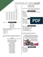 1ª P.D - 2013  (3º ano -  L.P)  - Blog do Prof. Warles.doc