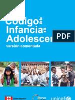 Código de Infancia y Adolescencia [versión comentada]