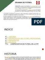 FEDERACIÓN PERUANA DE FÚTBOL MARIEL.pptx