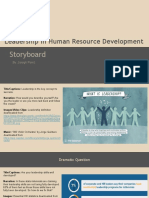 leadership storyboard