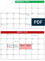 Board exam calendar