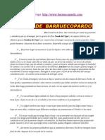 Fuero Medieval de Barruecopardo Siglo XII, Por Arturo Vega
