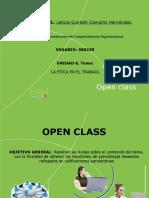 Open Class 6. La ética en el trabajo..pptx