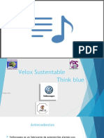 Velox Sustentable  blue