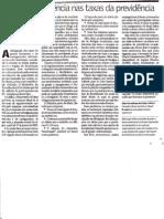 Maior transparência nas taxas de previdência - Jun2005 - Gazeta Mercantil