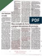 Mau exemplo do Aerus leva entidade a propor mecanismo de proteção - May2006 - Gazeta Mercantil
