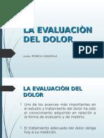3. EVALUACIÓN DEL DOLOR