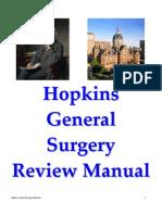 Attia General Surgery Review Manual