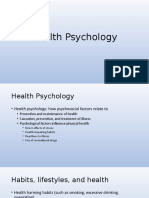 16Health PsychologyUNF