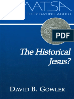 What are they saying about the historical Jesus.pdf
