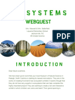 ecosystem webquest