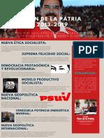 Infografía del plan de la patria 2013 - 2019