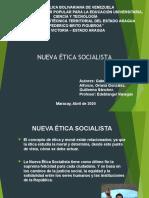 Ensayo sobre Nueva ética socialista