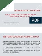 PRESENTACION DE MURO DE CONTENCION