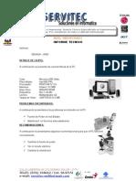 Informe Tecnico 1001 Pc Gerente 2003