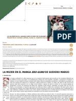 FRANCISCO JAVIER LÓPEZ, JUAN A. GARCÍA PACHECO (2012)_ _LA MUJER EN EL MANGA ERO-GURO DE SUEHIRO MARUO_, Documento en Tebeosfera.pdf